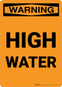 Warning: High Water Portrait