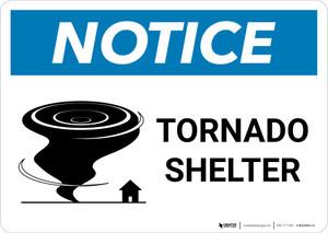 Notice: Tornado Shelter Landscape