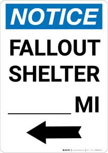 Notice: Fallout Shelter Custom Mile Left Arrow Portrait