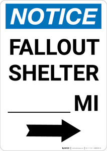 Notice: Fallout Shelter Custom Mile Right Arrow Portrait
