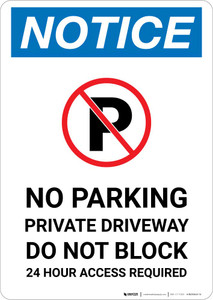 DO NOT ENTER PRIVATE DRIVEWAY Decal prohibited protection no entrance