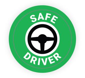 Safe Driver - Hard Hat Sticker