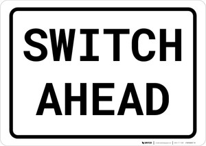 Switch Landscape - Wall Sign