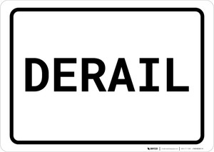 Switch Ahead Portrait - Wall Sign