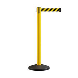 Safety Stanchion - Retractable Belt