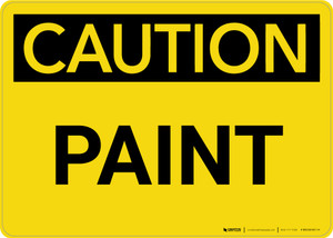 Caution: Paint Landscape