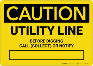 Caution: Unlawful To Operate This Equipment Closer Than 20 Feet Landscape