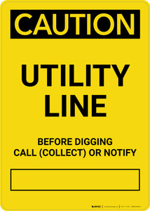 Caution: Unlawful To Operate This Equipment Closer Than 20 Feet Portrait