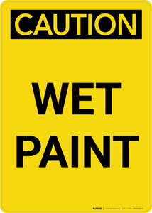 Caution: Wet Paint Portrait