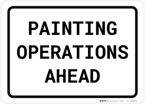Painting Operations Ahead Landscape