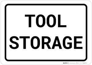Tool Storage Landscape
