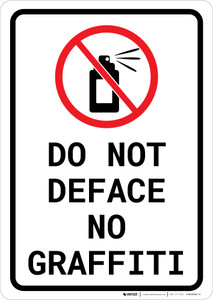 Do Not Deface - No Graffiti Portrait