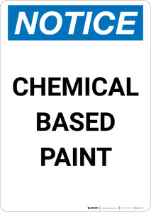 Notice: Chemical Based Paint Portrait