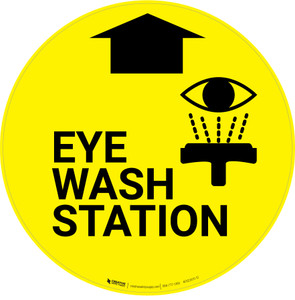 Eye Wash Station - Floor Sign
