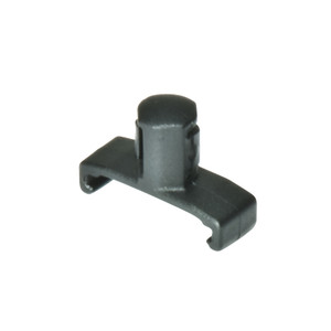 "3/8"" Dura-Pro Twist Lock Socket Clips - 15 pack - Black"