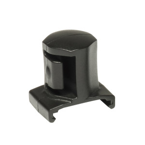 "3/4"" Dura-Pro Twist Lock Socket Clips -  5 pack - Black"