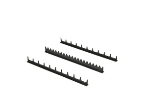 20 Tool Screwdriver Rail Set  w/Mag Tape - Black