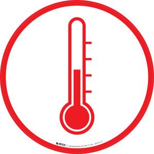Temperature White  - Floor Sign