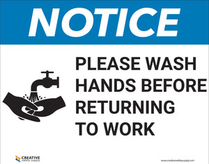 HZ-Please Wash Hands - Poster