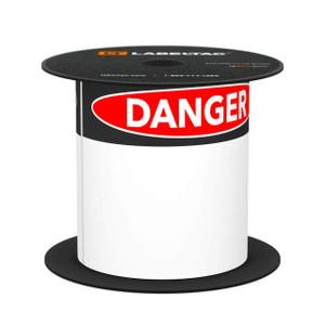 LabelTac 4 and Pro Model Die-Cut Danger OSHA Header Roll
