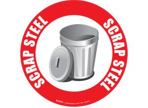 Scrap Steel - Floor Sign