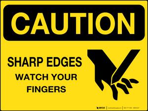 Sharp Edges - Wall Sign