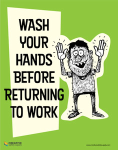 Wash Your Hands - Poster