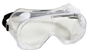 Radnor® Indirect Vent Chemical Splash Goggles With Clear Soft Frame And Clear Anti-Fog Lens
