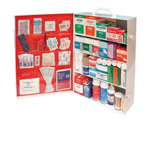 Radnor® Four-Shelf Durable Industrial First Aid Cabinet