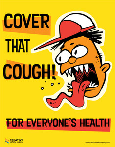 Cover That Cough for Everyone's Health - Poster