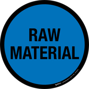 Raw Material - Floor Sign