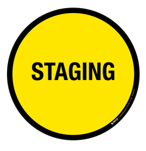 Staging - Floor Sign