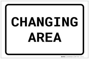 Changing Area Landscape - Label