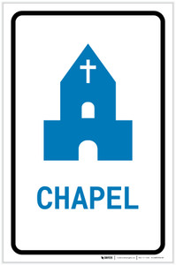 Chapel with Icon Portrait v2 - Label