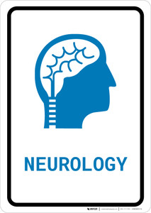 Neurology with Icon Portrait v2 - Wall Sign