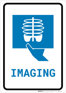 X-Ray Imaging with Icon Portrait v2 - Wall Sign