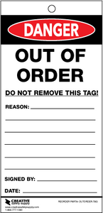 Danger: Out of Order Tags