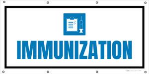 Immunization with Icon - Banner