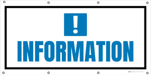 Information Exclamation Mark - Banner