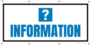 Information with Question Mark - Banner