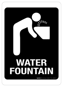 Water Fountain - Wall Sign