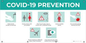 Covid-19 Prevention Guide - Banner