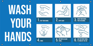 Wash Your Hands Guide - Banner