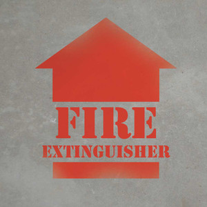Fire Extinguisher - Stencil