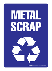 Metal Scrap Recycling - Wall Sign