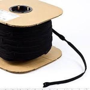 Black - Velcro® Brand One-Wrap® Straps