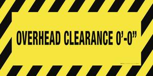 Custom Overhead Clearance Banner