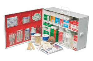 Radnor Two-Shelf 10 Person Mobile First Aid Kit