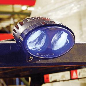 Blue LED Forklift Pedestrian Safety Warning Spotlight