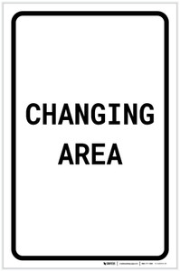 Changing Area Portrait - Label